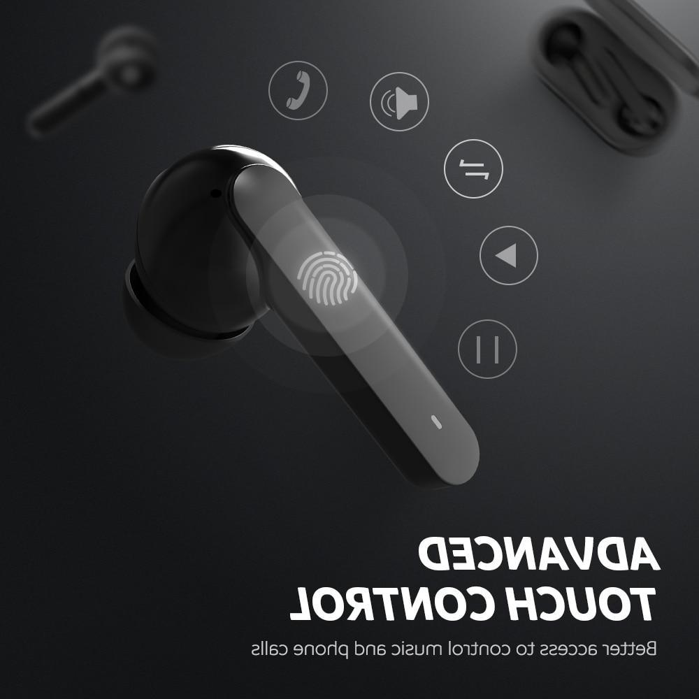 <font><b>SoundPEATS</b></font> 5.0 Stereo Mic Touch Control