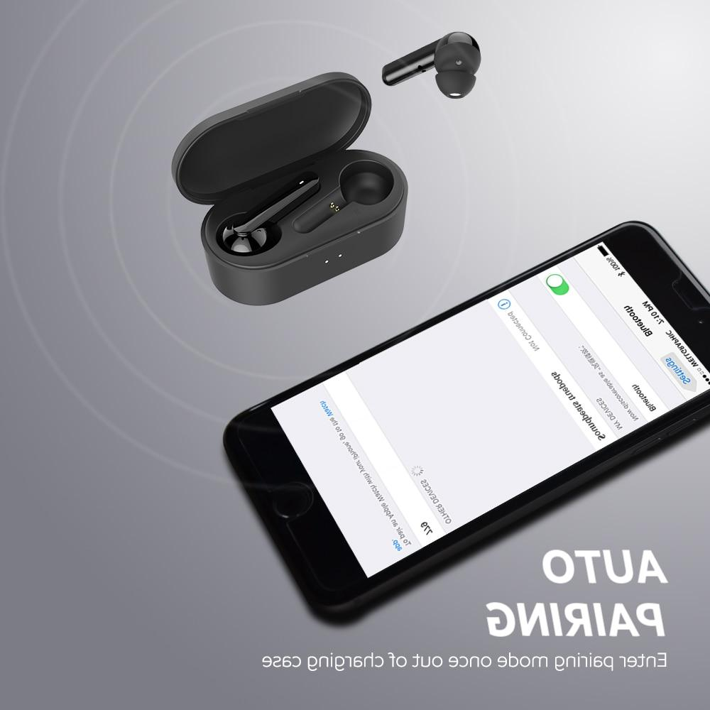 <font><b>SoundPEATS</b></font> 5.0 <font><b>Bluetooth</b></font> Earphones in-Ear Mic Touch Control