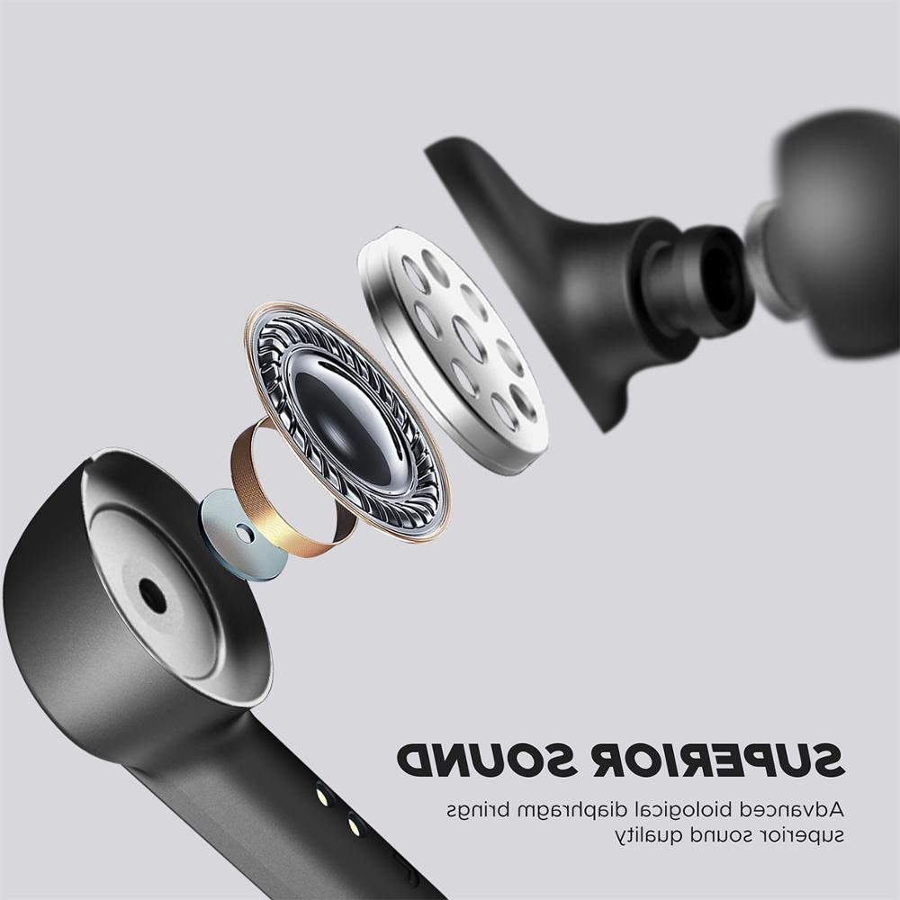 <font><b>SoundPEATS</b></font> True Earbuds in-Ear TWS High Definition Mic Auto-Pair Wireless