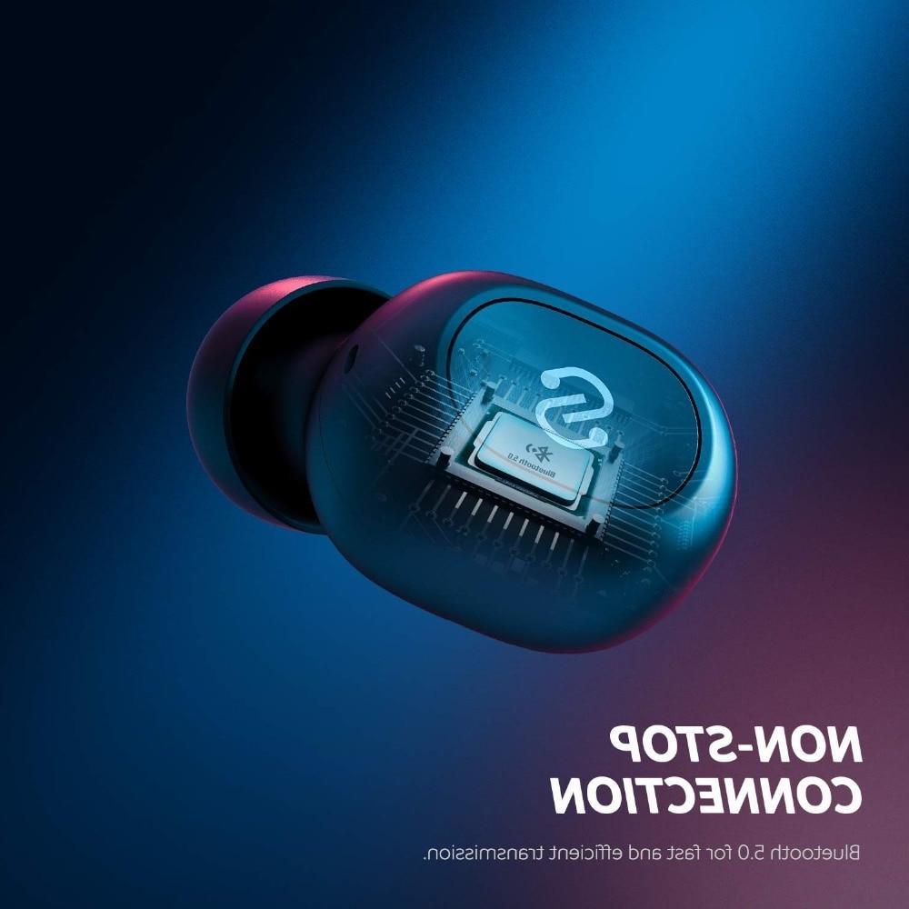 <font><b>SoundPEATS</b></font> TWS <font><b>Bluetooth</b></font> <font><b>Bluetooth</b></font> Wireless Stereo Headset with Microphone Truefree Plus