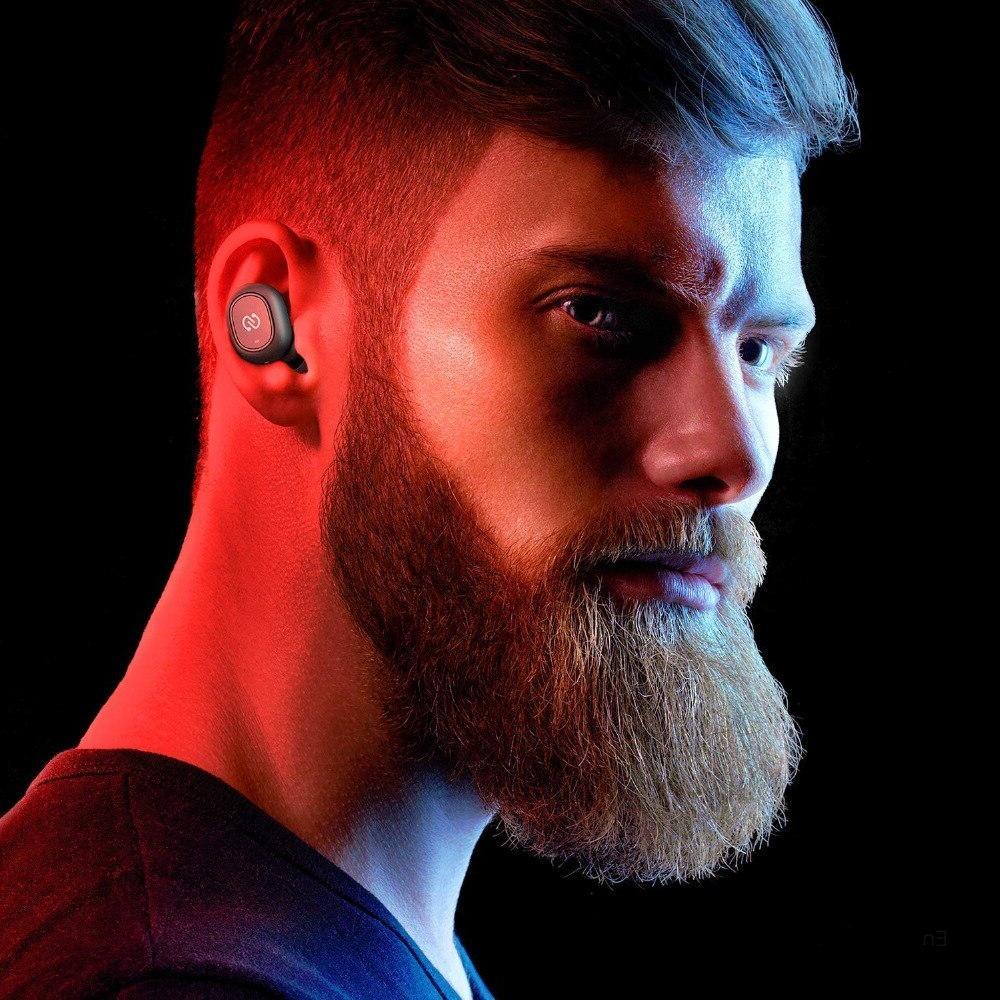 <font><b>SoundPEATS</b></font> <font><b>Bluetooth</b></font> <font><b>Earbuds</b></font> <font><b>Bluetooth</b></font> Wireless Earphones Stereo Binaural Headset with Microphone