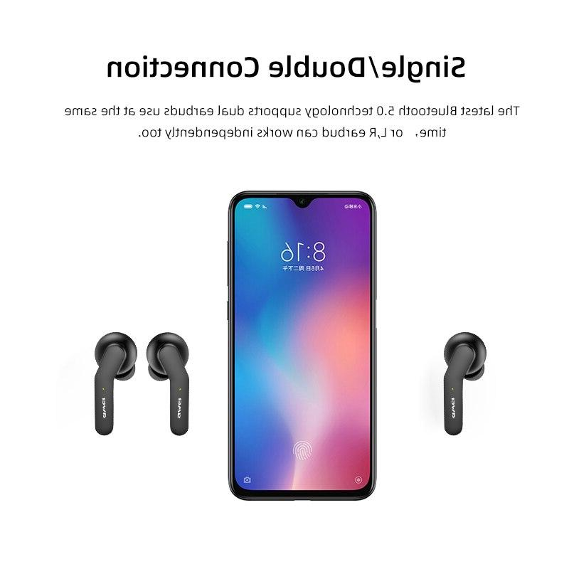 <font><b>AWEI</b></font> TWS <font><b>Bluetooth</b></font> With Dual Noise Canceling HiFi Gaming Headset