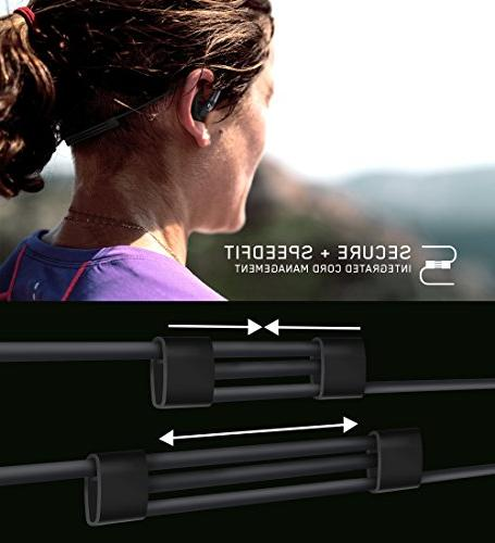 Jaybird Wireless Headphones with SpeedFit All-Metal Design Carbon
