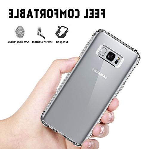 Airror Clear, Ultra Soft Thicken Non-Slip, Cover Galaxy Case