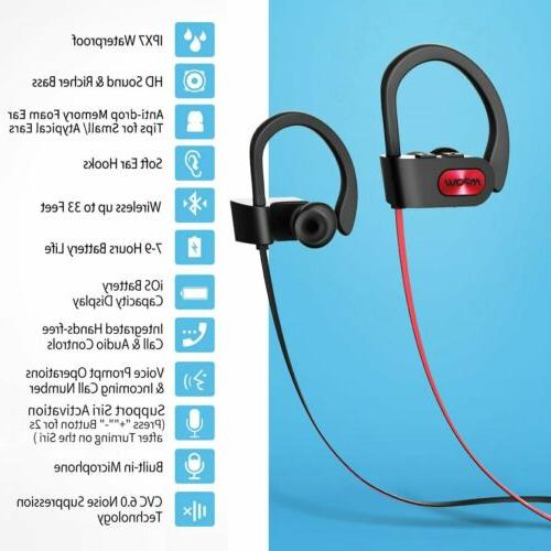 Mpow Flame 4.1 Headset HiFi Bass Earbuds