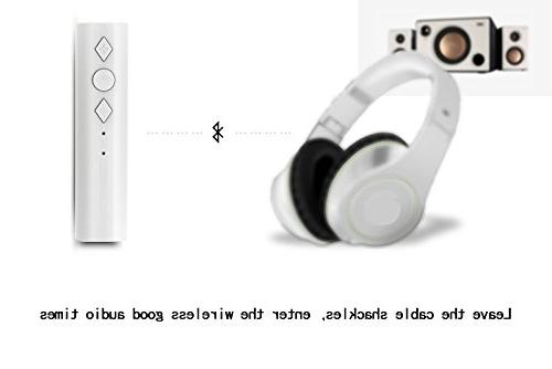 elegantstunning Handfree Bluetooth 4.2 Stereo Music Adapter,
