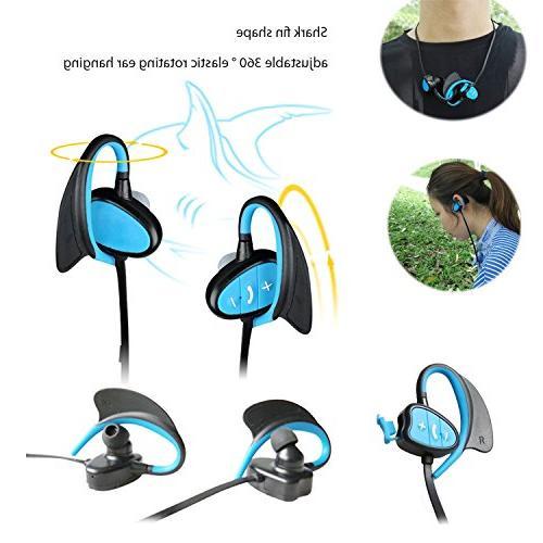 Happy Waterproof Sport Headset Fashion Shark