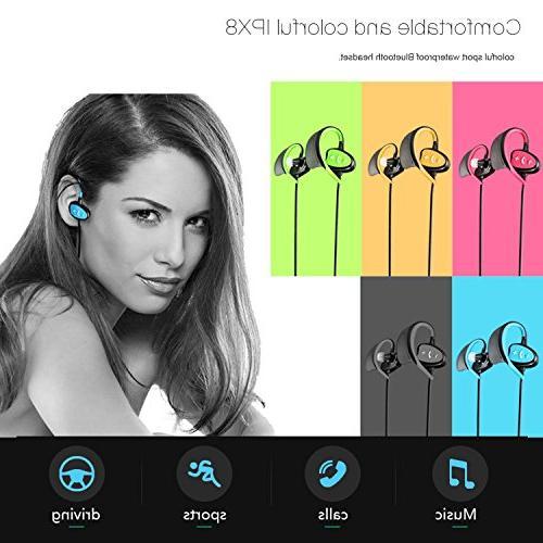 Happy Professional Waterproof Headset Bluetooth Fashion