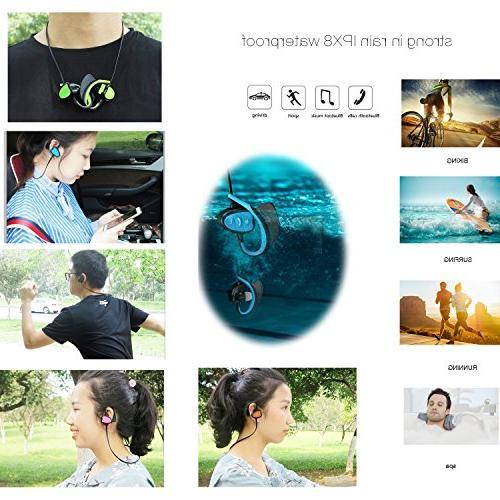 Happy Waterproof Sport Headset Fashion