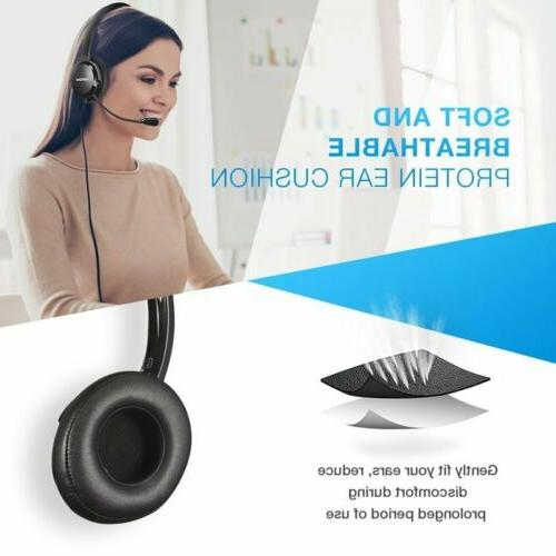 Mpow Headset Mic For PC Windows Tablet
