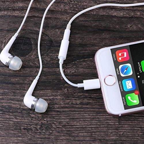 Headphone X 10 Plus, mm Headphone Jack Adapter Jack Stereo 7 / 7 iOS 10.3
