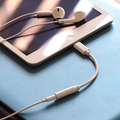2 Pack Headphone Adapter, to 3.5mm Audio Jack Extender 8/8 Plus