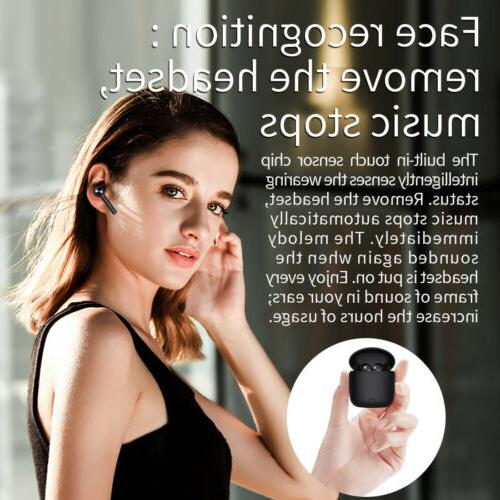 Bluedio Hi bluetooth true wireless/ HD recognition feature earbuds