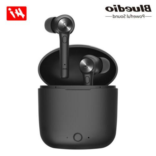 hi wireless bluetooth earphone stereo sport earbuds