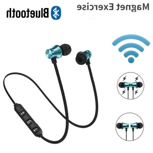 hot magnetic in ear headphone bluetooth stereo