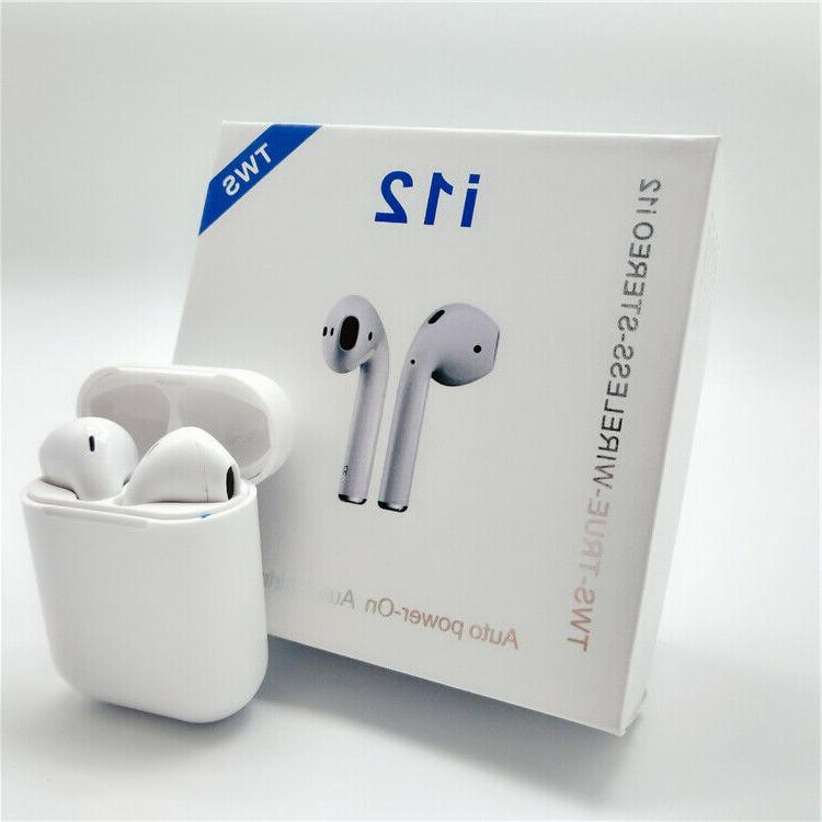 i12 tws bluetooth 5 0 earbuds wireless