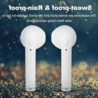 i7s Bluetooth Headset In Ear Earphone w/Charger US