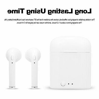 i7s TWS Bluetooth Wireless Headset Ear Earphone US
