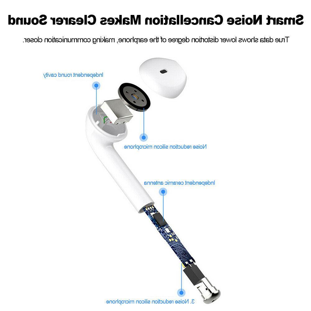 i7s TWS Wireless Bluetooth4.2 Earphones Stereo Headphones US
