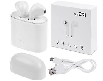 i7s tws wireless bluetooth earbuds earphone w
