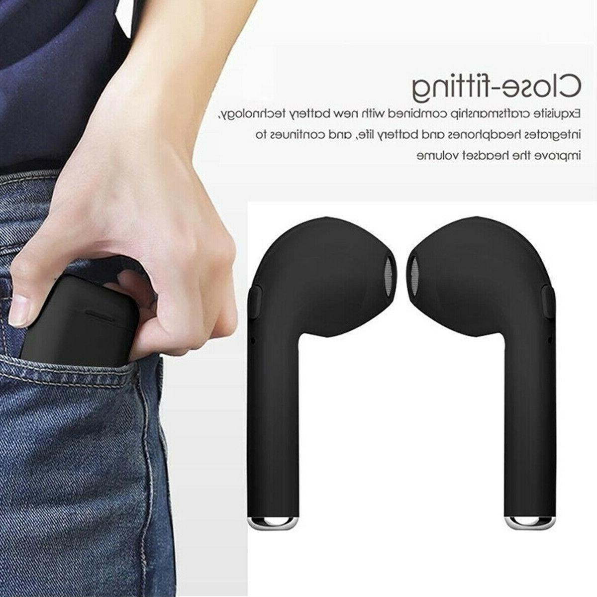I7s Wireless Bluetooth Earphone Earbuds iPhone Android
