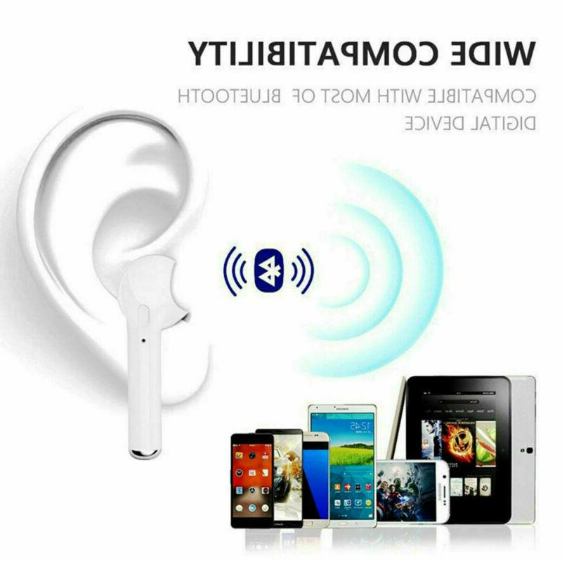 I7s Wireless Earphone Earbuds For iPhone Android