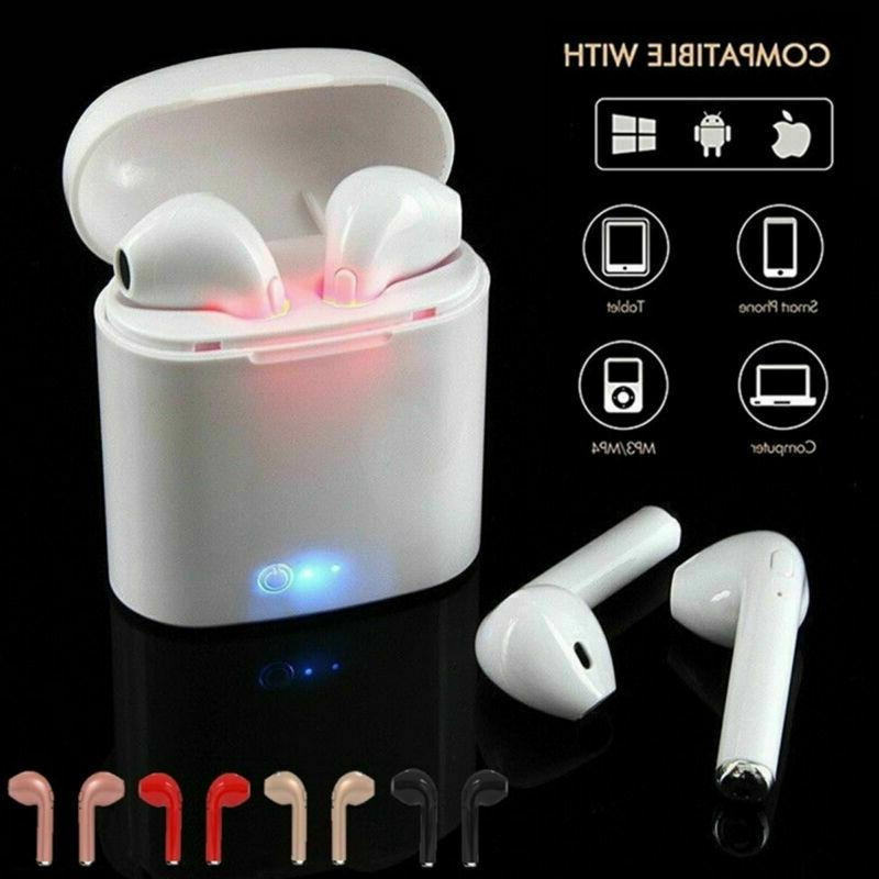 i7s tws wireless bluetooth earphone earbuds headphone