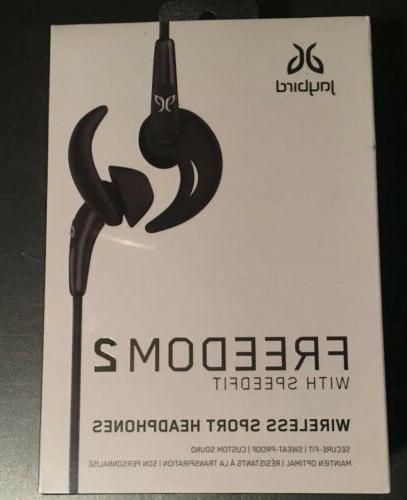 Jaybird FREEDOM 2 Wireless In-Ear Earbud Headphones  Blue -
