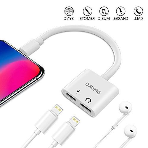 iphone headphone adapter splitter