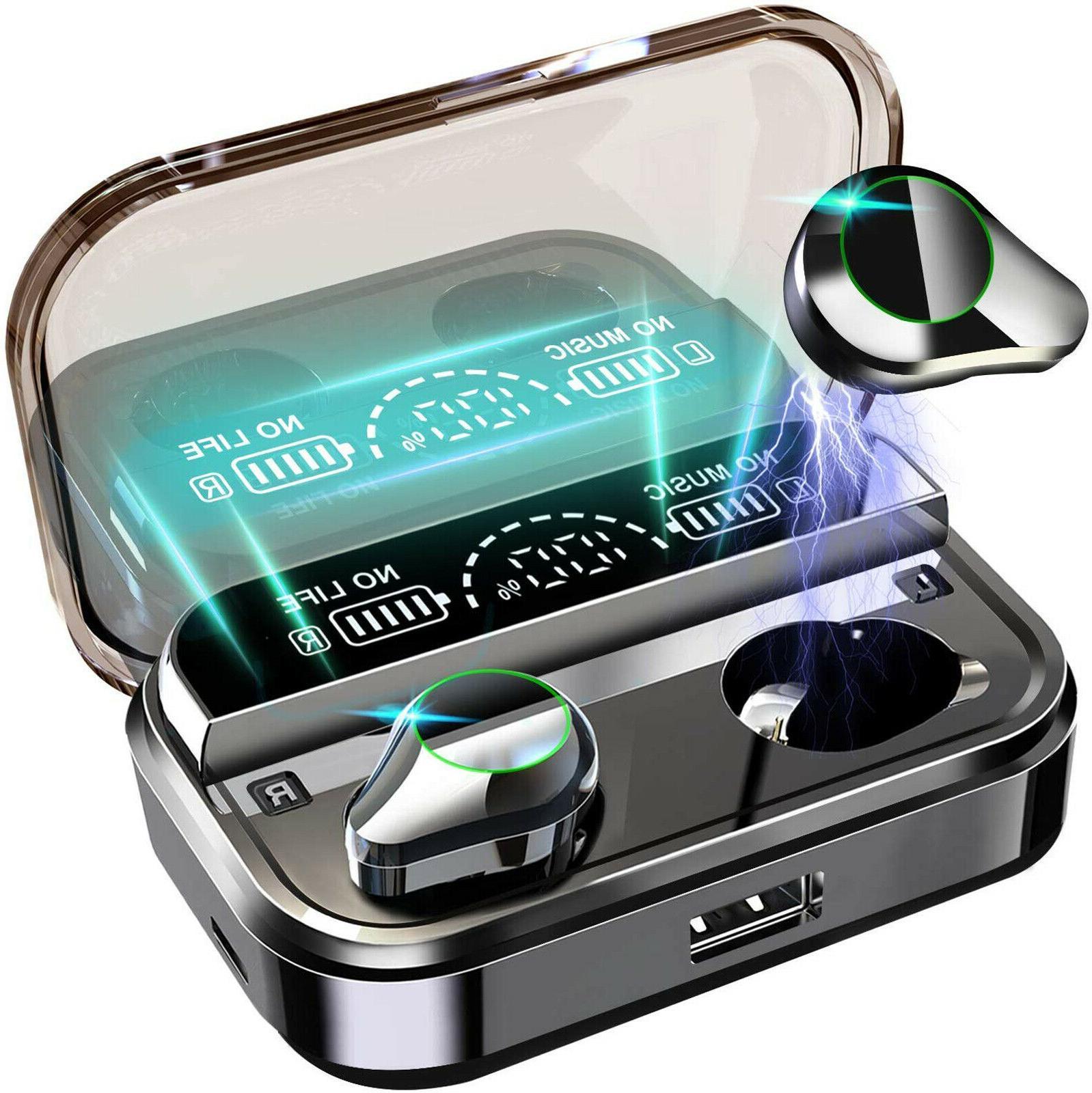 ipx7 bluetooth 5 0 headset tws wireless