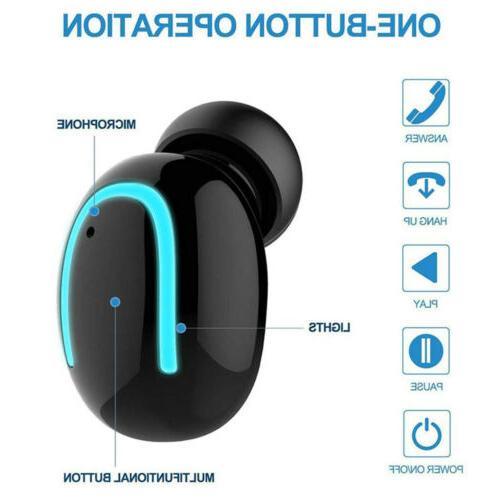 IPX7 True 5.0 Earbuds Wireless