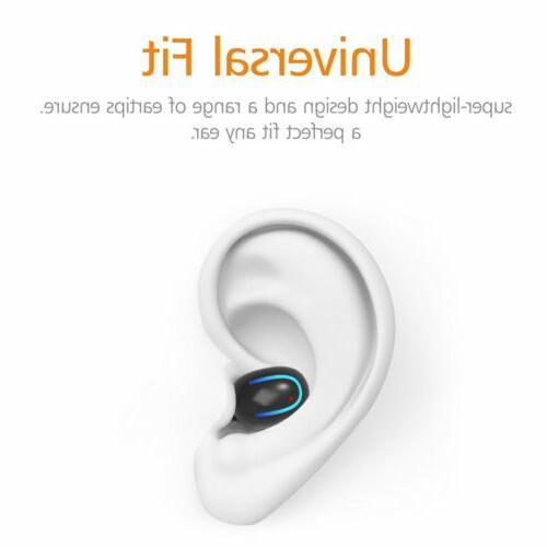 IPX7 Waterproof Mini True Bluetooth 5.0 Wireless Headphone