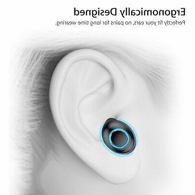 IPX7 Waterproof Touch True Stereo 5.0 Earbuds Wireless Headset Headphone