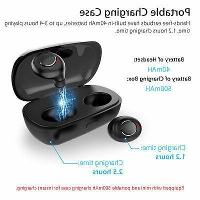 IPX7 Waterproof Touch True Stereo Wireless