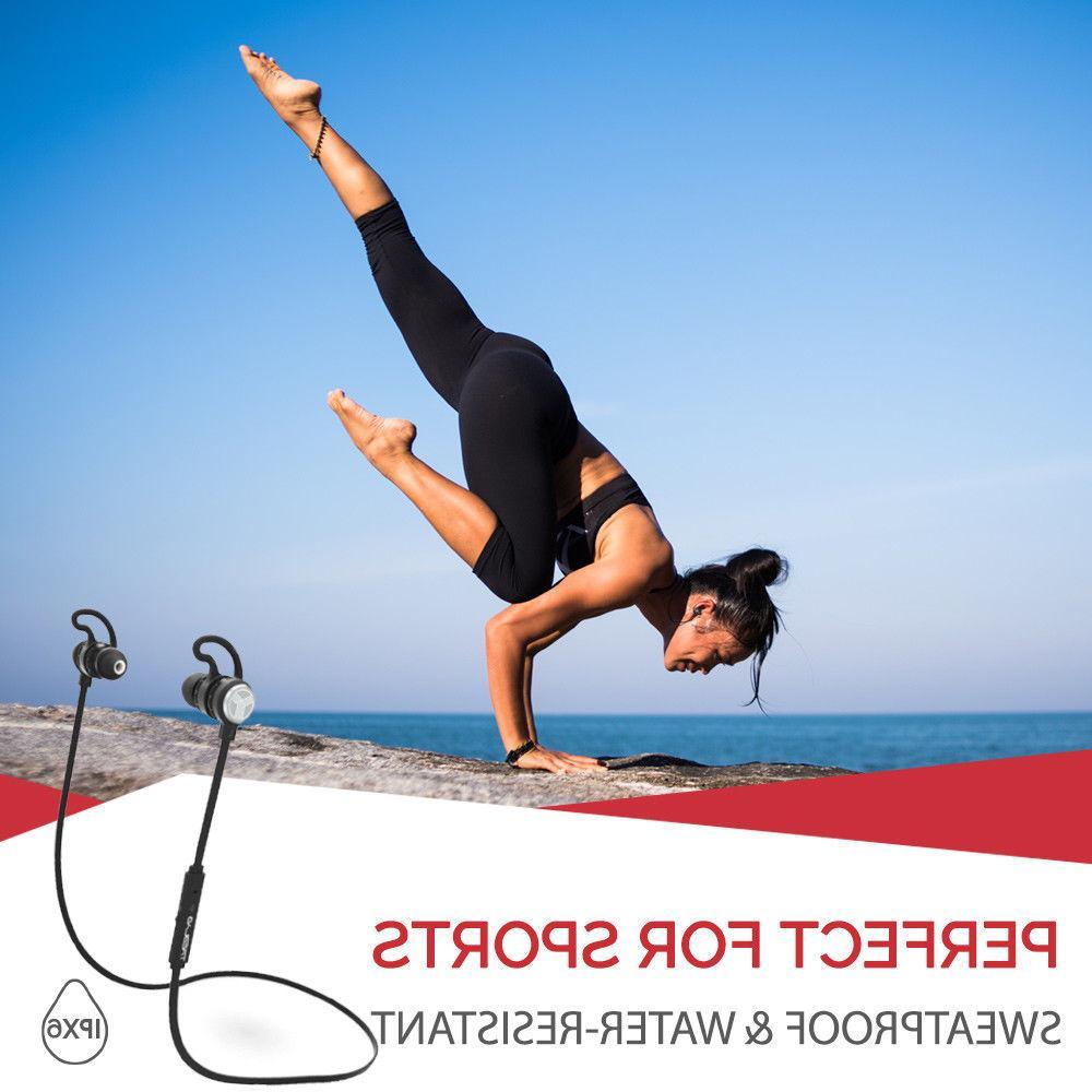 TREBLAB Bluetooth Earbuds aptX Sport