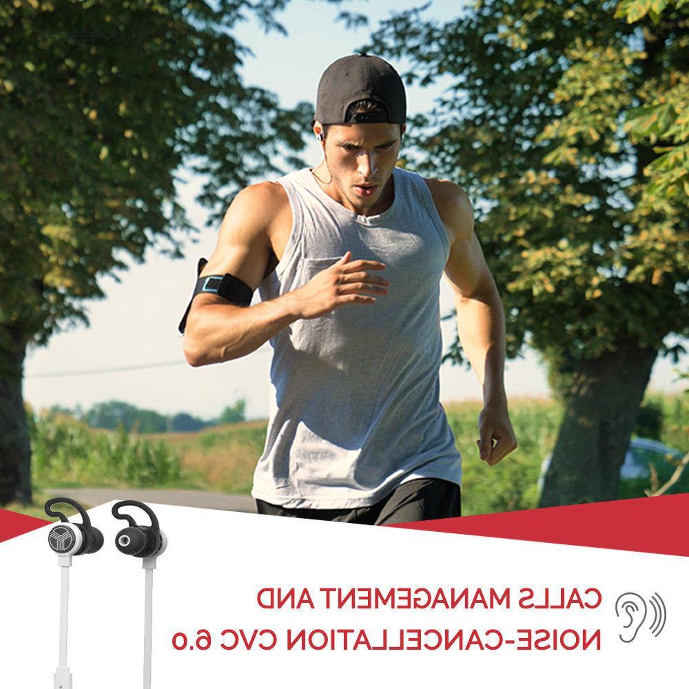 TREBLAB J1 Bluetooth Earbuds aptX Wireless Sport