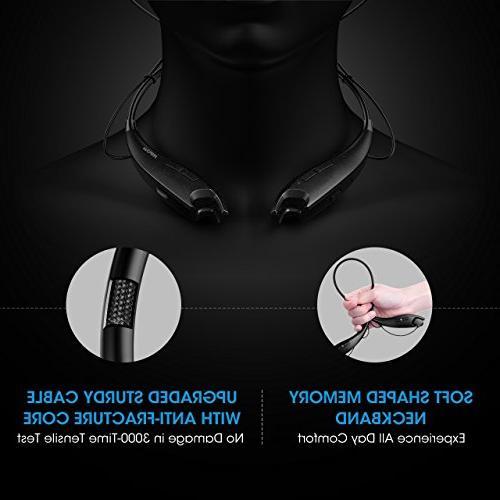 Mpow Gen-3 Headphones Headset V4.1, Alert, Cell