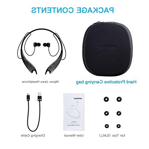 Mpow Jaws Gen-3 Headphones Headset Alert, Mic, Cell Phone/Tablets/TV