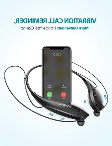 Mpow Gen-5 Wireless Bluetooth 5.0 Headphones Neckband Headset