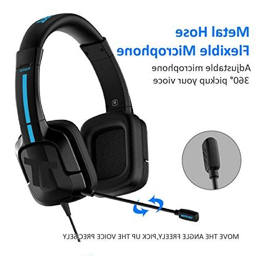 TRITTON Kama , Gaming Headset with mic, for PS4,Nintendo Pro/Air,Laptop,and More