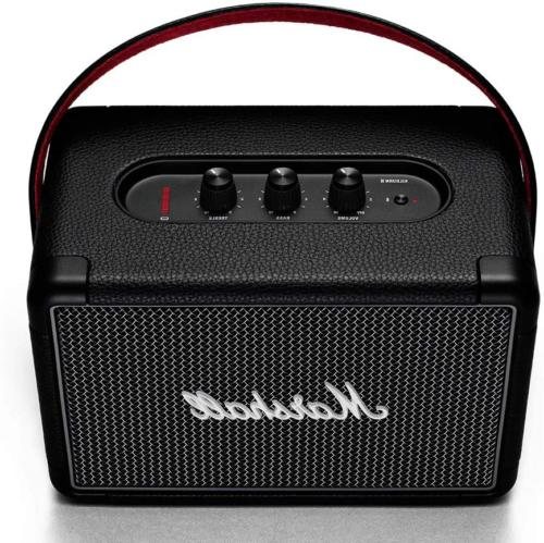 Marshall Kilburn Portable Bluetooth Speaker Play Grey