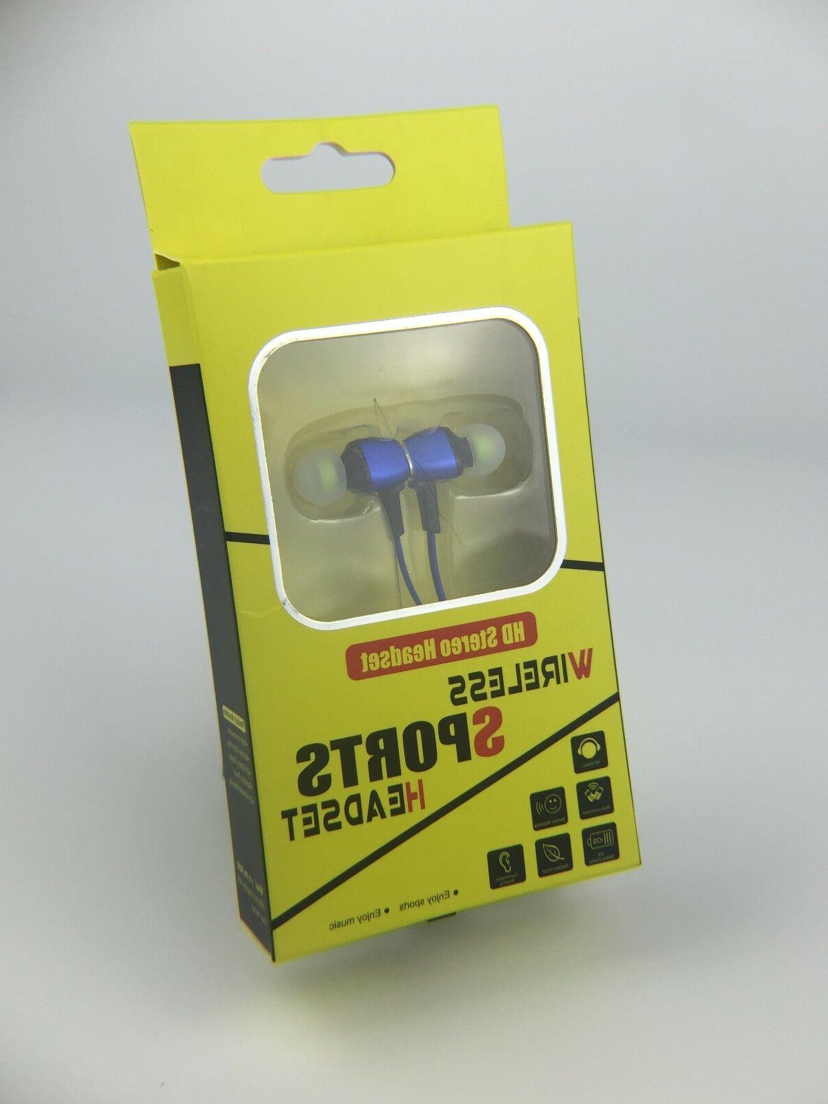 Kivi HD Magnetic Stereo Wireless Sports Universal Earbud/Headset