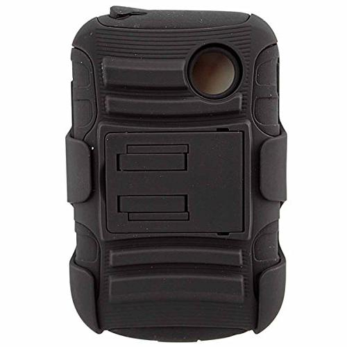 LG Case, LG 305C With Kickstand Locking Swivel Clip - Includes 2 Chargers Cables + Earphone Stylus