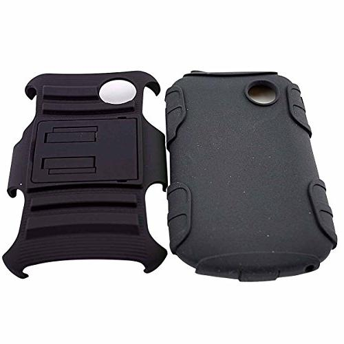 LG Case, LG Tracfone, LG Holster With Kickstand Locking Swivel Clip - Includes 2 + Cables Earphone Stylus