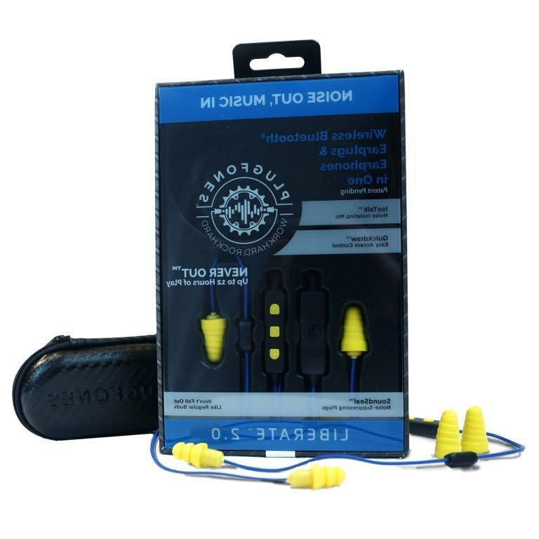 PLUGFONES® LIBERATE HYBRID BLUE /