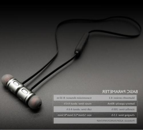 Magnet Bluetooth In-Ear Earphone Headset