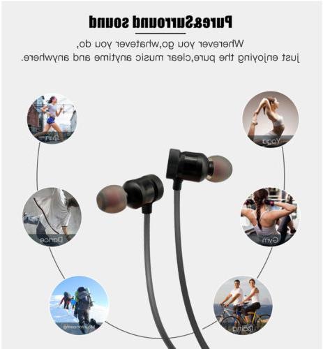 Magnet In-Ear Bass Earphone Headset