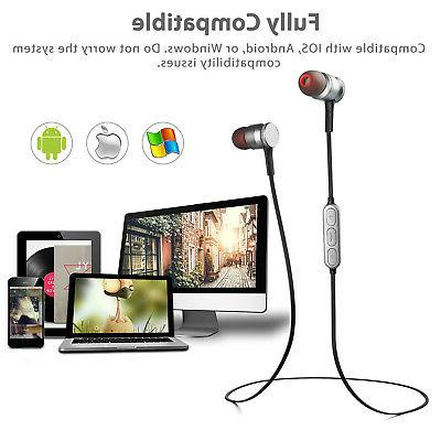 Magnetic Wireless 4.0 Stereo Earbuds Headset