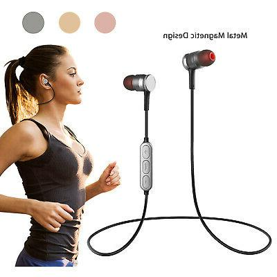 magnetic wireless sport bluetooth 4 0 stereo