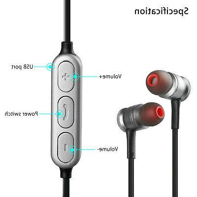 Magnetic Wireless Sport 4.0 Stereo Headset